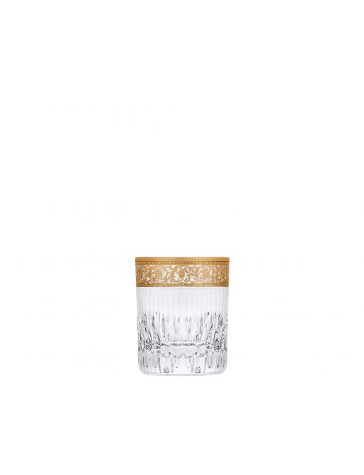 SMALL CYLINDRICAL TUMBLER GOLD