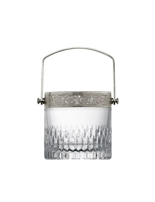 ICE BUCKET WITH A HANDLE PLATINUM