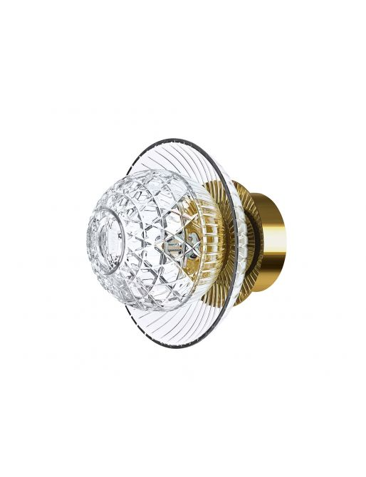 1L GOLDEN FINISH IP44 SCONCE CUP