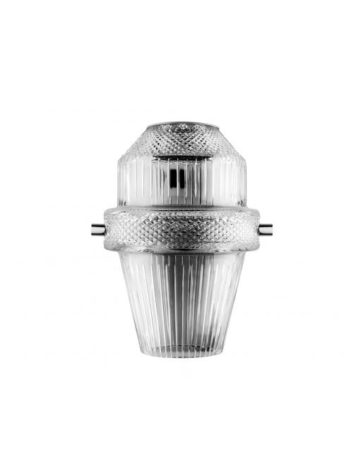 1L NICKEL-PLATED FINISH SCONCE