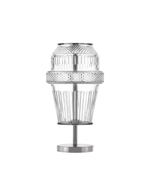 CHROME-PLATED FINISH TABLE LAMP